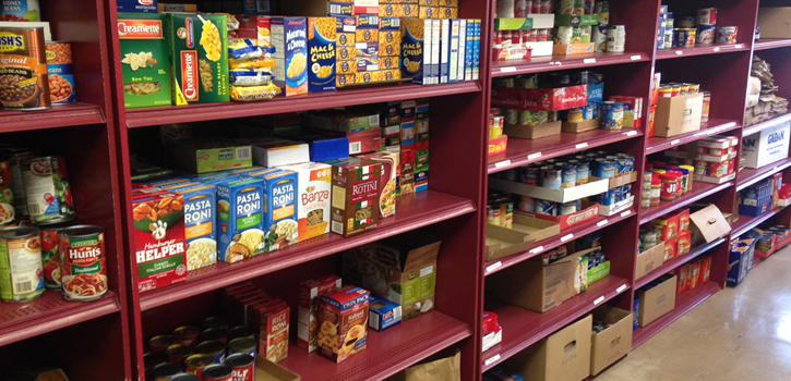SVdP Pantry Shelves